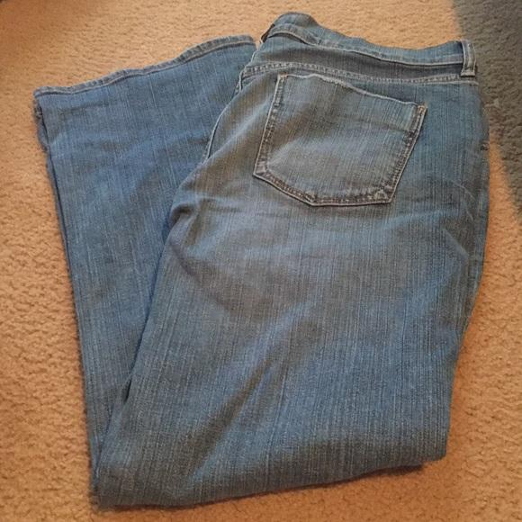 Old Navy Denim - Oldnavy flare leg pants